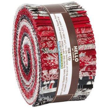 Holiday Flourish Roll Ups Metallic Scarlet #RU-824-40