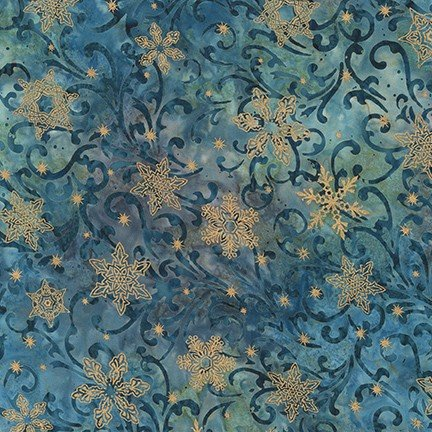 Twilight Snowfall Dusty Blue #19430-68