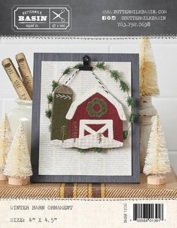 Winter Barn Ornament Kit