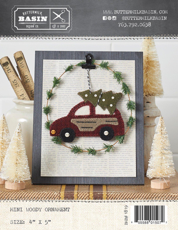 Mini Wood Ornament Kit