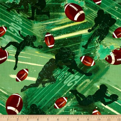 Fabri-Quilt Allstars Football Green