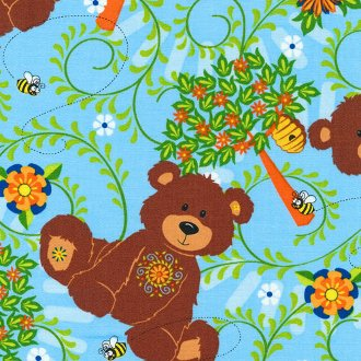 Mystic Forest Allover Bear