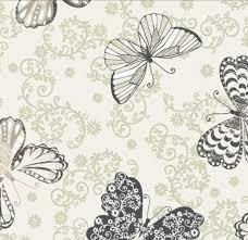 Paintbrush Studio C'est La Vie Butterfly Ecru
