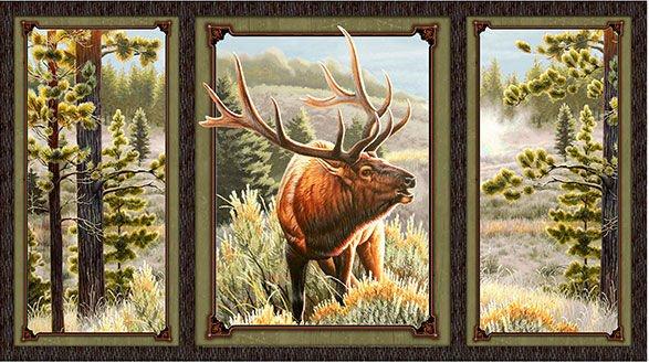 Mountain Elk Panel