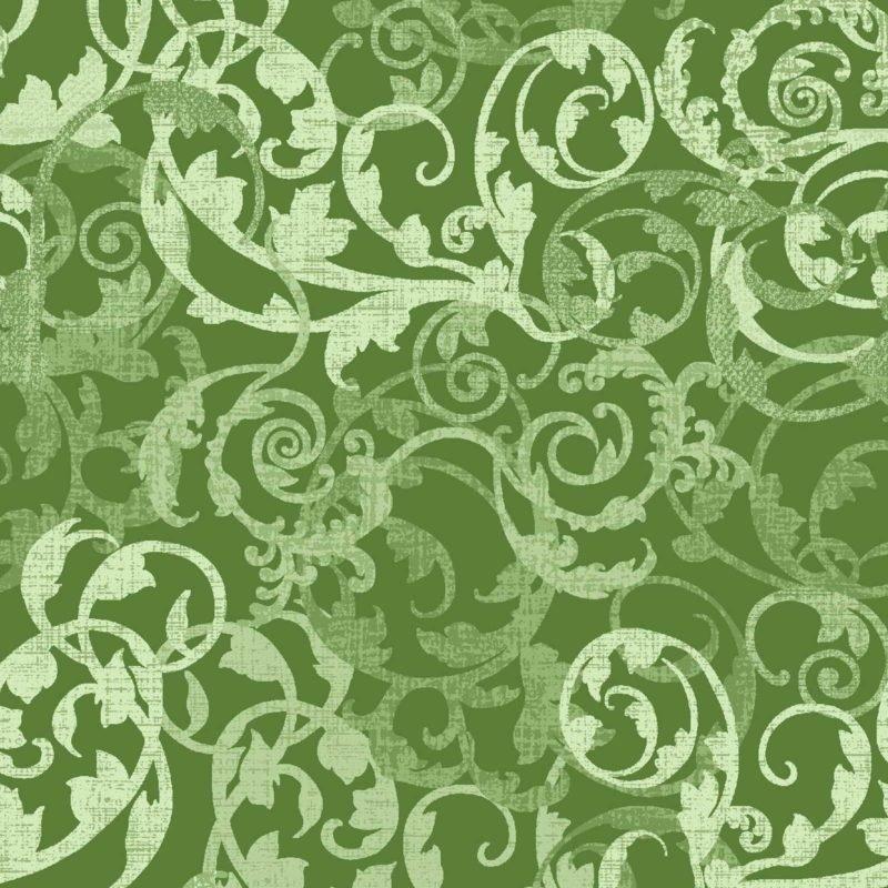 Oasis Enchanted Damask Green OA6017202