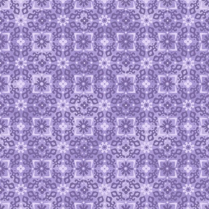 Oasis Enchanted Tonal Floral/Purple OA6017402