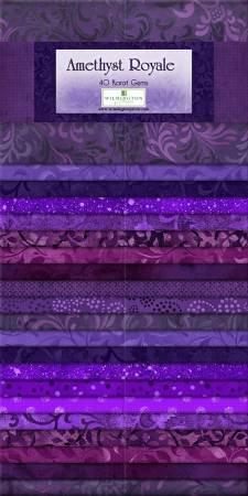 Essential Gems - Amethyst Royale 24- 2 1/2 x 44 strips