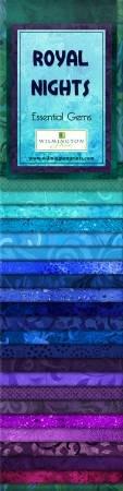 Essential Gems - Royal Nights - 24- 2 1/2 x 44 strips
