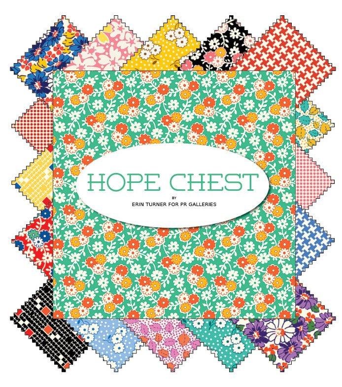 Hope chest - 5 squares