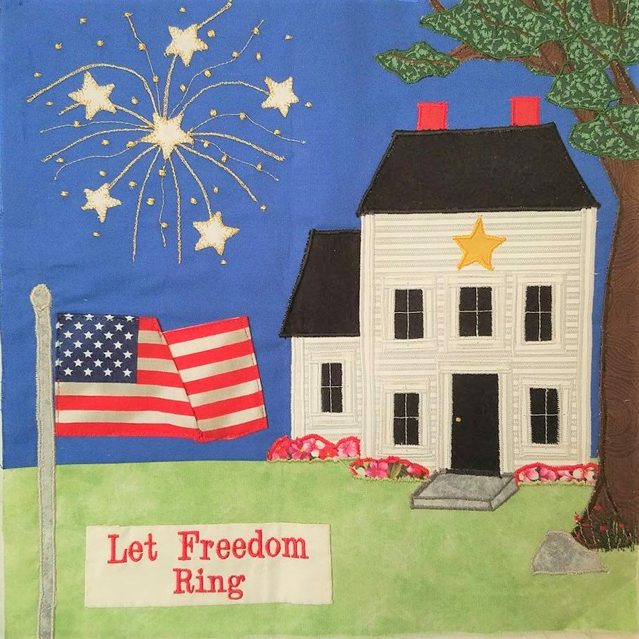 Let Freedom Ring Block Kit