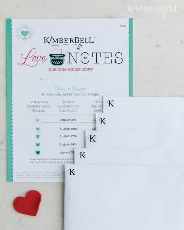 KimberBell love notes CD instructions
