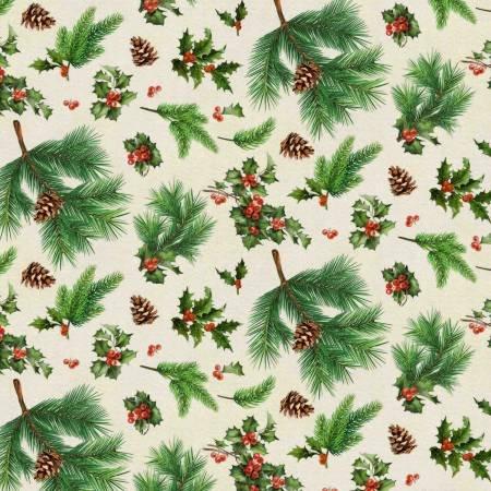 Christmas Merry Deer Holly