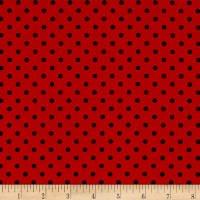 Paintbrush Studio Essentials Micro Dot Red/Black