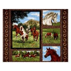 Run Free 36 Horse Panel