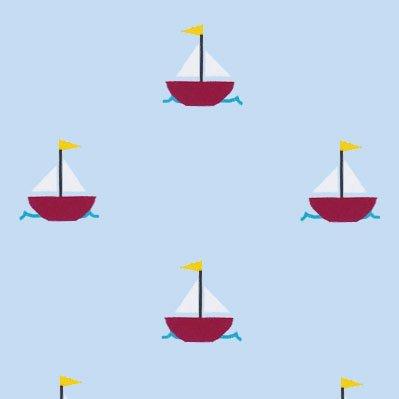 Sailboat Light Blue