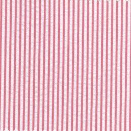 Striped Seersucker Fabric #056 – Raspberry