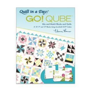 AccuQuilt Go! Cube by Eleanor Burns Book-2nd Edition