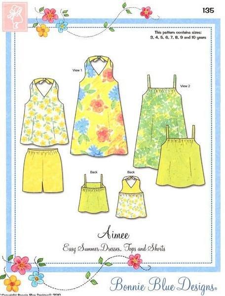 Aimee Sz 3yrs- 10yrs Bonnie Blue Designs