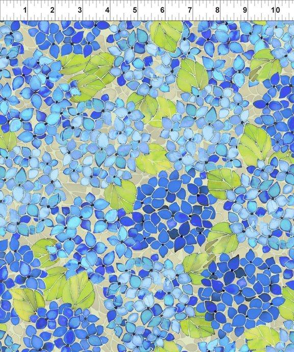 Ajisai-Hydrangea-Blue