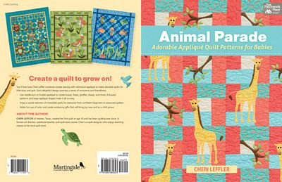 Animal Parade(quilt patterns for babies)by Cheri Leffler