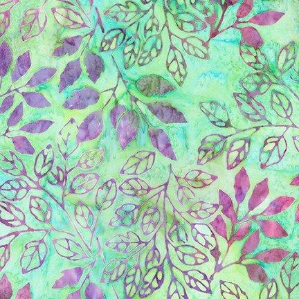 Batik-Rosette-Leaf AMD-18942-43 LEAF
