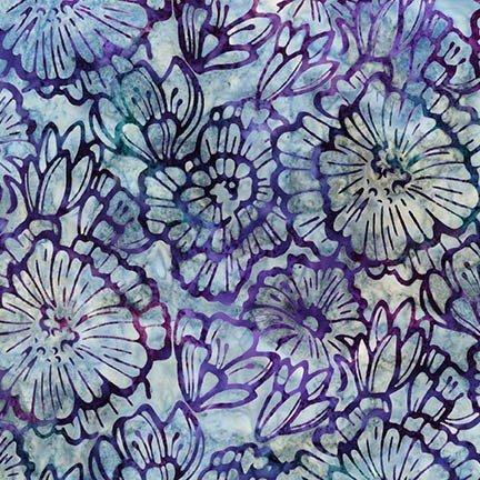Batik-Terrace 3-Large Flowers-Jewel