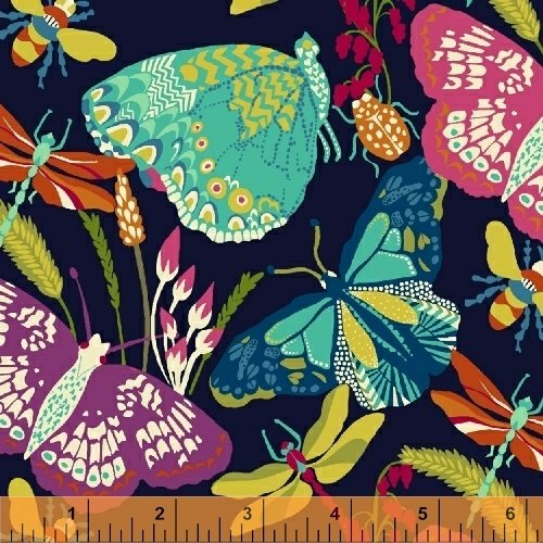 Butterfly Dance-Navy