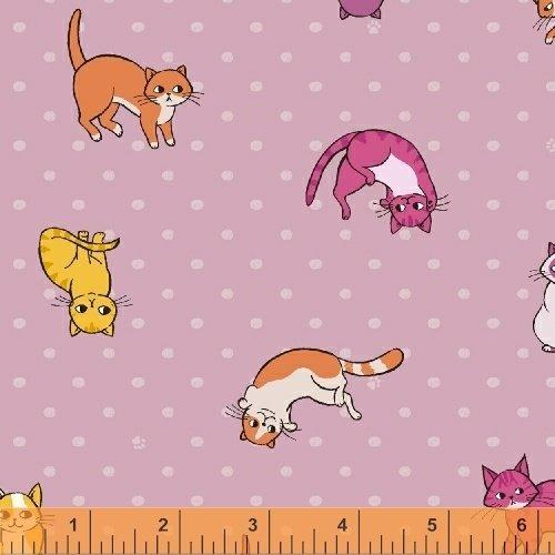 Caturday Kitty Toss-Pink