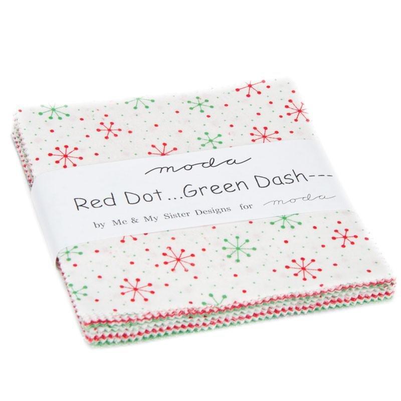 Red Dot... Green Dash---Brushed