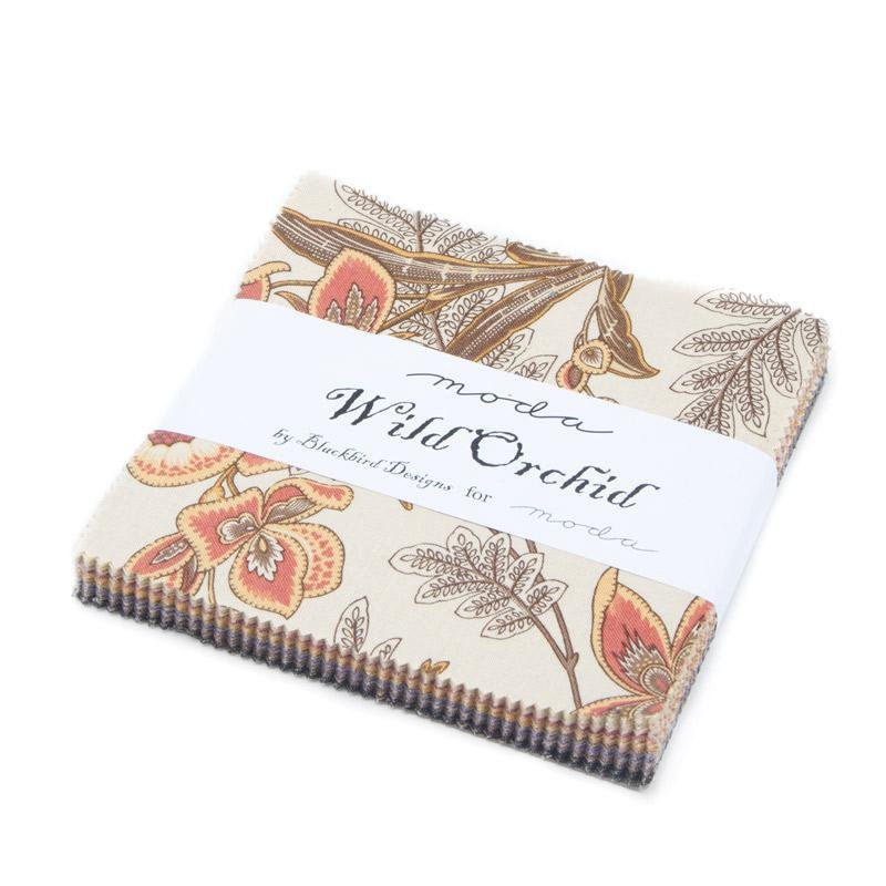 Wild Orchid Charm Pack5 squares 42 pieces
