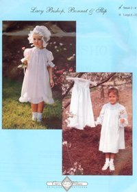 Lacy Bishop Bonnet & Slip-Small 2-6 yrs
