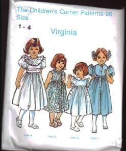 Virginia  1-2 Size ONLY