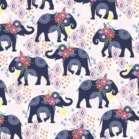 Navy Elephant Trunk Show