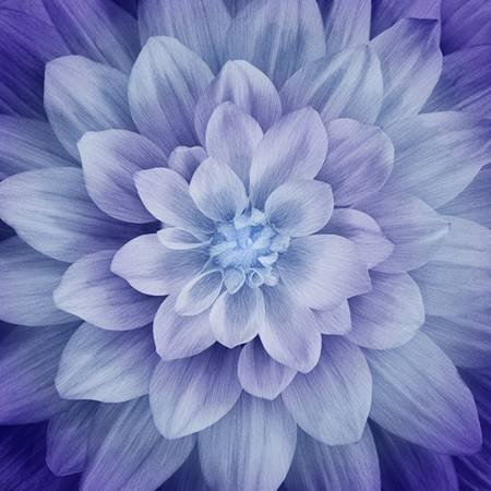 Dream Big-Hydrangea Large Flower Digitally Printed