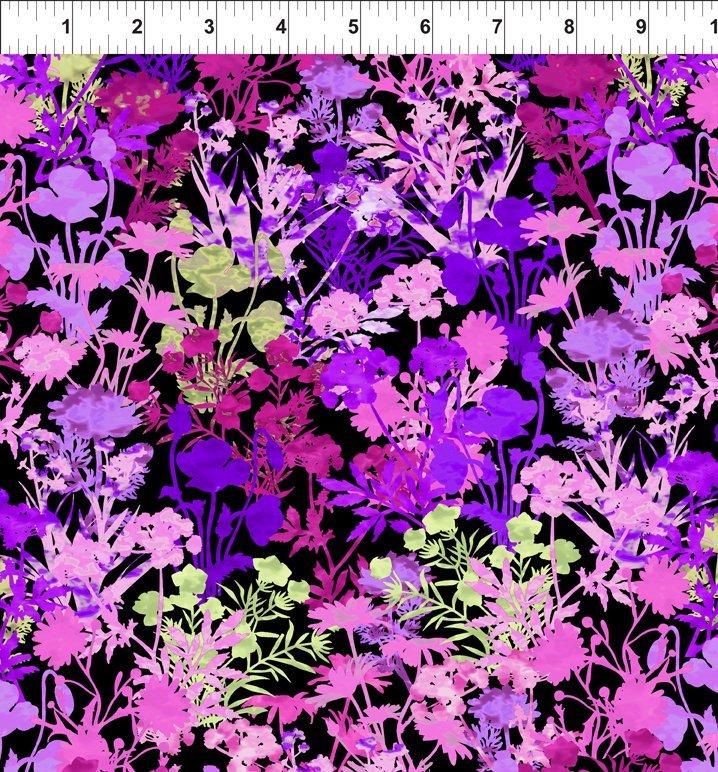 Dreamscapes II-Floral-Purple