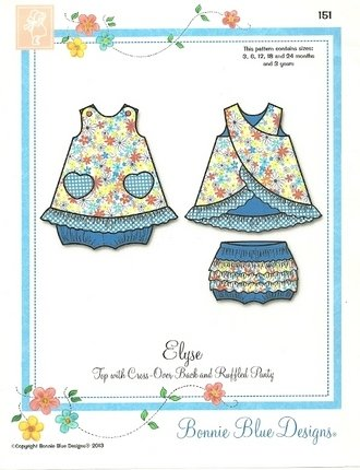 Elyse #151by Bonnie Blue Designs