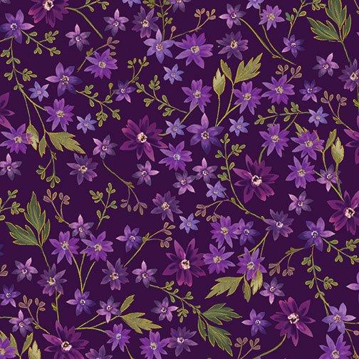 Enchanted-Mini Floral-Purple