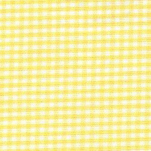 Yellow Gingham Fabric – 1/16