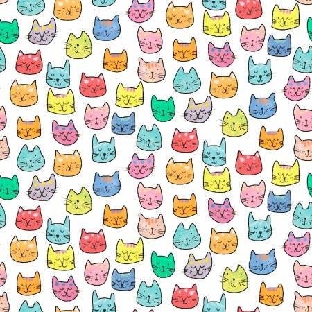 Fat Cat-Purrfect-White