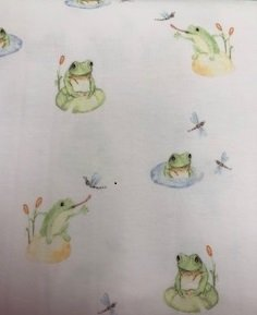 Happy Frogs-Baby Knit Prints-Sea Island Cotton PIMA COTTON