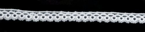 Hand-Made Tatting Lace-White