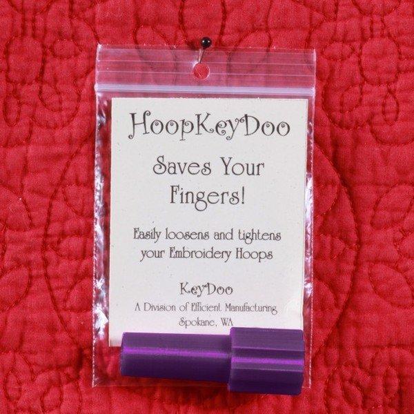 HoopKeyDoo-For Embroidery Hoops
