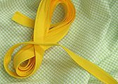 Imp.Broadcloth Piping, slicker yellow# 518