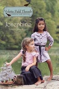 Josephine pattern by Violette Field Threads