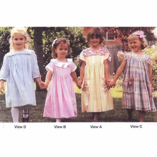 Kinsey   Size 1-4 #222S Children's Corner Pattern