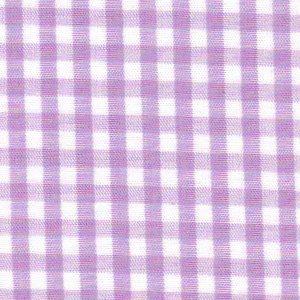 Lilac Gingham Fabric – 1/8
