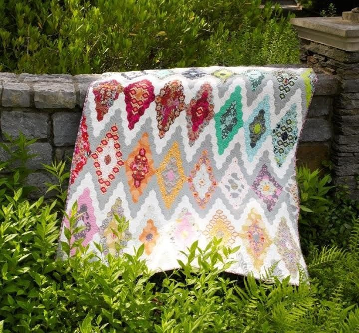 Tula PinkQuilt Top Kitby Freespirit