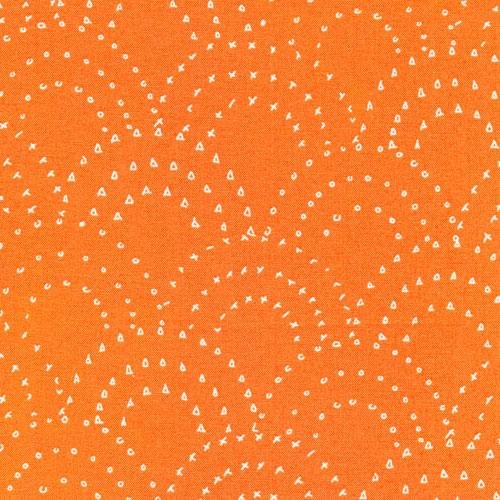 On Your Mark-Stamped Clamshell-Orange