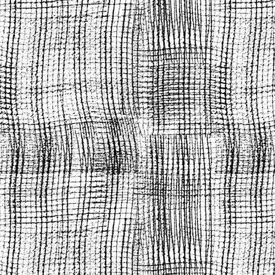 Panda Prints-Mesh-White