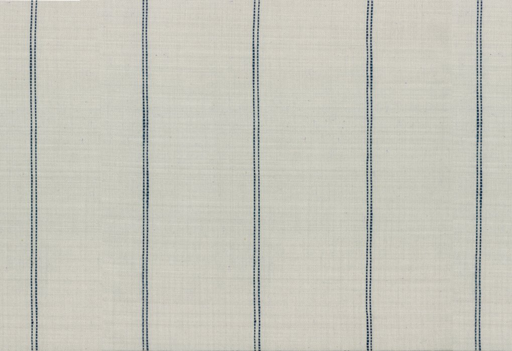 Pieces to Treasure-Picnic Point Tea 16 Linen with navy stripes